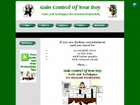 gaincontrolofyourday.com