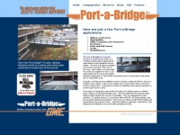 Portable Bridge, Temporary Bridge, Modular Bridges : GME Port A Bridge