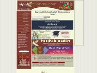 alphadictionary.com