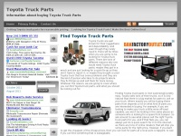Toyotatruckparts.net