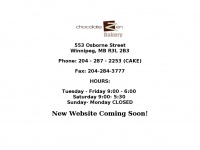 Chocolate Zen Bakery - New Website Coming Soon!