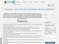 Anymem: User-Friendly Translation Memory Software