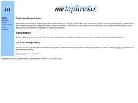 metaphrasis.co.uk