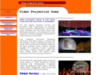 videoprojectiondome.com