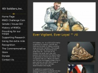 k9soldiers.org Thumbnail