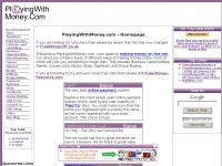 PlayingWithMoney.com - Homepage