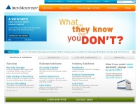 Data Backup - Records Management - Shredding - Data Centers | Iron Mountain