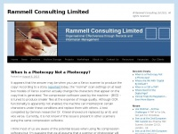 Rammell Consulting Limited | © Rammell Consulting Ltd 2011. All rights reserved