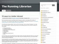 Therunninglibrarian.co.uk