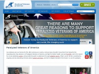 Supportveterans.org - Home - Paralyzed Veterans of America