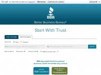 Better Business Bureau: Start With Trust®