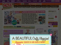 Sewmag.co.uk - Sewing Magazines | Forum | Cross Stitch | Free Patterns | Sew Magazine