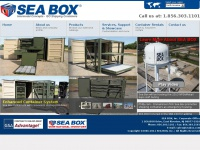 SEA BOX | Intermodal Concepts | ISO Shipping Containers | Connex Boxes | Portable & Refrigerated Containers