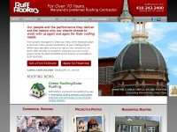 Ruff Roofers is Maryland's Preferred Roofing Contractor in the Baltimore Annapolis area.