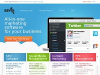 Internet Marketing Software: SEO, PPC, Social - Raven