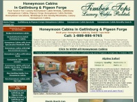 honeymooncabinsingatlinburg.com