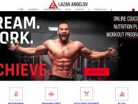 Lazarangelov.com - LAZAR ANGELOV - ONLINE PERSONAL TRAINER