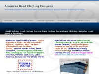 americanusedclothing.info Thumbnail