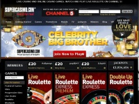 Online Casino | SuperCasinoTM - Play Online Casino Games- £200 Bonus!