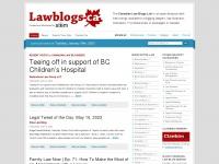 lawblogs.ca Thumbnail