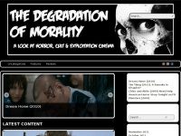 degradationofmorality.com