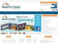 Wasatchpeaks.com - Wasatch Peaks Credit Union - Personal and Business Banking in Utah