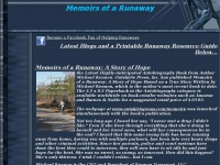 Memoirs of a Runaway: A Story of Hope