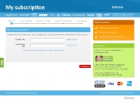 Informasubscriptions.com - Informa Subscriptions