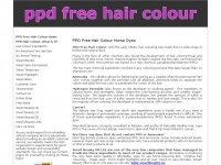 PPD Free Hair Colour Home Dyes by Smart Beauty.