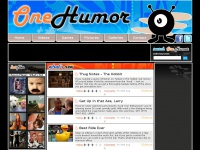 OneHumor is a collective of cool content featuring funny videos, funny movies, classic TV ads, virals&  silly pictures.