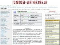Tonbridge Weather Page - Tonbridge, Kent, UK