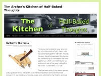 Tim Archer's Kitchen of Half-Baked Thoughts