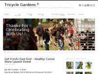 Tricycle Gardens - Growing Healthy Food, Healthy Communities and a Healthy Local Food System | Richmond, VA