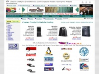Chester County PA Small Business Website Hosting And Website Advertisement.