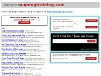 pupdogtraining.com