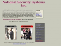National Security Systems Inc