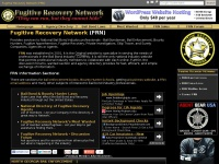 Fugitive Recovery Network - National Bail Bond & Bounty Hunter Industry Website