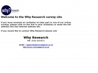 whyresearch.org.uk