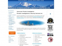Private Investigators in Vancouver, BC, Canada - Pinnacle Investigations & Security Services Ltd