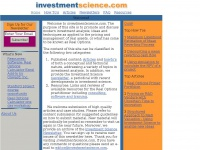 investmentscience.com