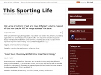 Thissportinglife.net