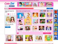 Cutezee Games For Girls | Cutezee.com - Cutezee - Customer ... Cutezee