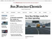 San Francisco Chronicle - exclusive coverage of the SF Bay Area - San Francisco Chronicle