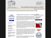 Chicago process server, service of process, skip tracing, Investigative services, Located in Chicago, Ill