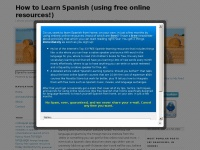How to Learn Spanish (using free online resources!)