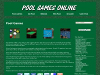 Pool Games - Play Free Pool Games Online