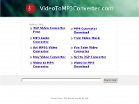 VideoToMP3Converter.com: The Leading Video to MP3 Converter Site on the Net