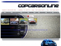 Copcarsonline.com - Online Unmarked Police Cars Cop Cars Online Undercover Cop Cars for Sale