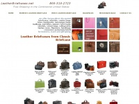leatherbriefcases.net Thumbnail