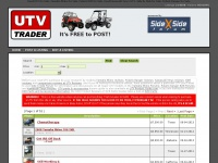 Utvtrader.net - UTV Trader :: UTV For Sale, Yamaha Rhino For Sale, Used UTV For Sale, Polaris RZR For Sale, Used UTV Parts and Accessories For Sale